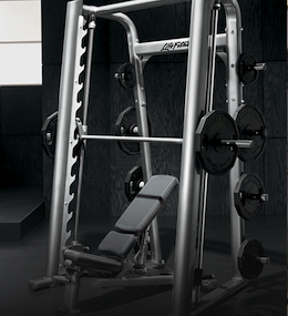 Multipowers - Smith Machine - Supports avec barre guidée