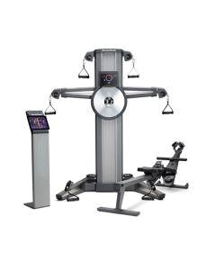 NordictTrack Fusion CST + Rower - Musculación, Cardio + Sesiones de Remo