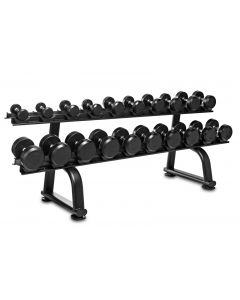 Titanium Strength Mancuernas 2.5 - 25kgs + Rack