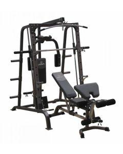 Titanium Strength Total Smith Machine & High Lat/Low Row