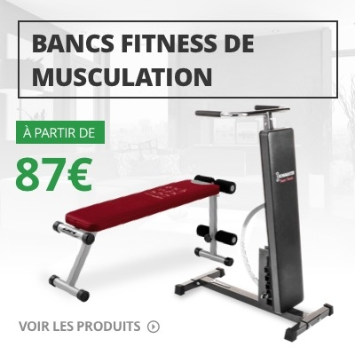 Bancs fitness de musculation